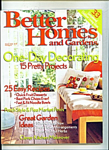 Better Homes And Gardens - August 2006