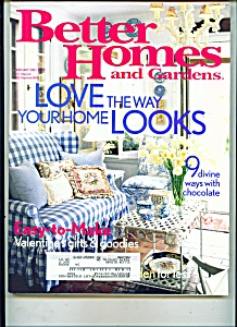 Better Homes and Gardens -  February 2003 (Image1)