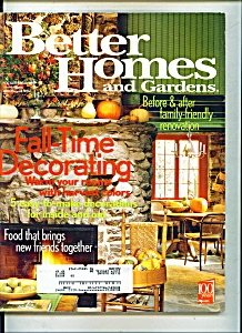 Better Homes and Gardens - October 2002 (Image1)