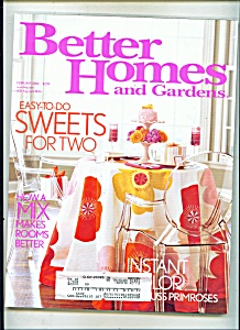 Better Homes and Gardens - February 2004 (Image1)