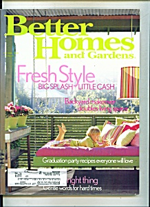 Better Homes And Gardens - May 2004
