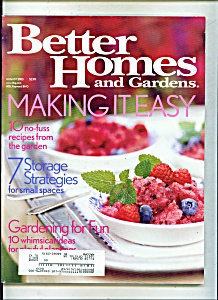 Better Homes and Gardens - August 2003 (Image1)