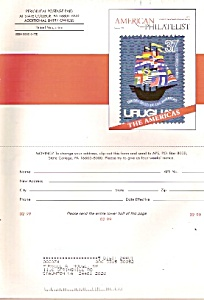 Anmerican Philatelist Magazine - February 1999