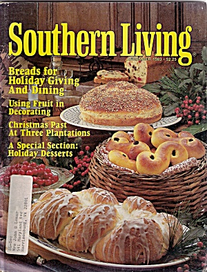 Southern Living Magzine - December 1983