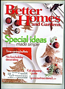Better Homes And Gardens - December 2005