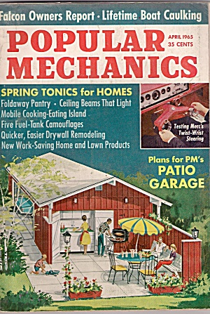 Popular Mechanics - April 1965 (Image1)