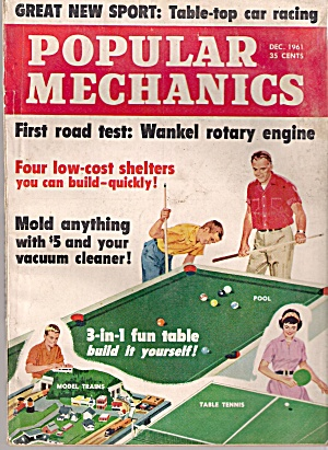 Popular Mechanics - December 1961 (Image1)