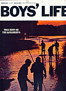Boys' Life Magazine - August 1968 (Image1)