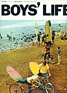Boys' Life magazine - July 1968 (Image1)