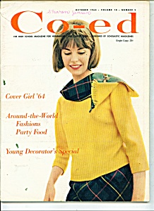 Co-Ed Magazine -  October 1964 (Image1)