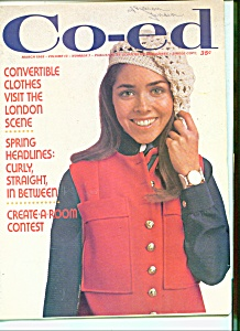 Co-ed magazine -  March 1968 (Image1)