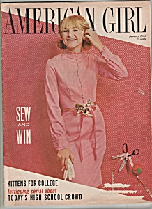 American Girl - March 1966 - Model Terry Smith