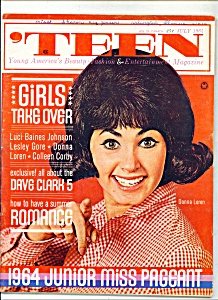 Teen magazine -  July 1964 (Image1)
