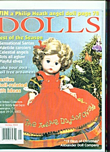 Dolls Magazine -  Holiday 2003 (Image1)