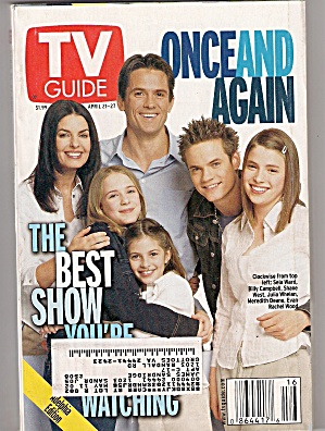 TV GUIDE  -    April 21 - 27,  2001 (Image1)