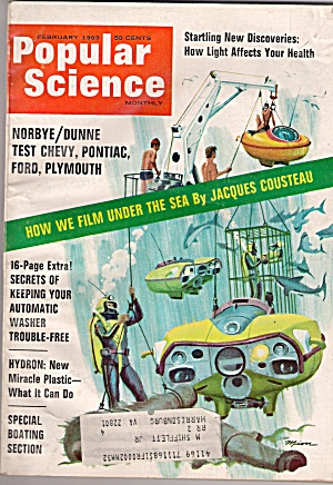 Popular Science - February 1969