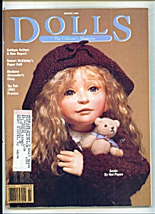 Dolls Magazine- March 1992 (Image1)
