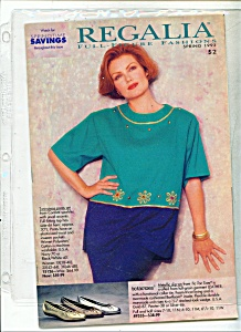 Regalia full figure fashions - Spring 1993 (Image1)