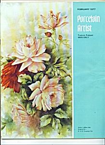 Porcelain Artist - Febuary 1977 (Image1)