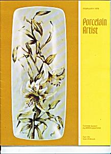 Porcelain Artist - February 1978 (Image1)