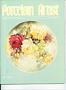 Porcelain Artist - January/February 1986 (Image1)