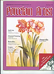 Porcelain Artist - July/August 1986 (Image1)