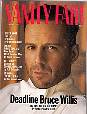 Vanity Fair Magazine - January 1991 (Image1)