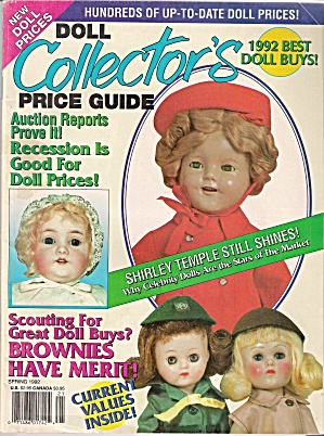 Doll Collector's Price guide -  Spring 1992 (Image1)