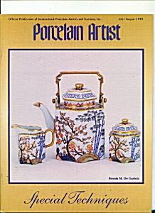 Porcelain Artist - JulyAugust 1995 (Image1)