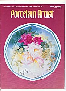 Porcelain artist  -  MarchApril 1996 (Image1)