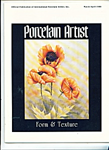 Porcelain Artist - March/April 1988 (Image1)