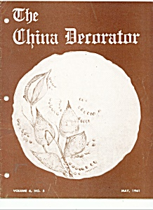 The China Decorator - May 1961 (Image1)