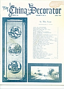 The China Decorator -  June 1969 (Image1)