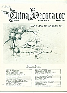 The China Decorator - January 1971 (Image1)