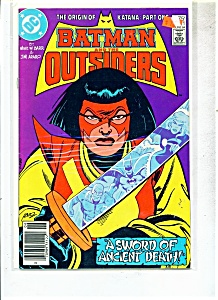 Batman and the Outsiders comic - # 11- June 1984 (Image1)