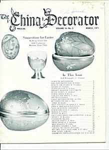 The China Decorator - March 1971 (Image1)