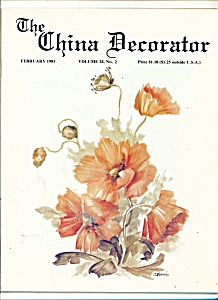 The China Decorator - February 1983
