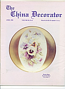 The China Decorator - April 1983