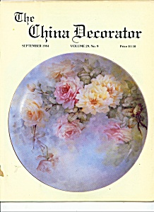 The China Decorator - September 1984