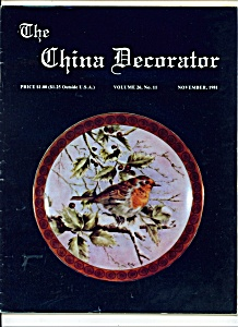 The China Decorator  -  November 1981 (Image1)