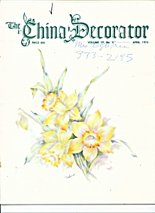 The China Decorator - April 1974