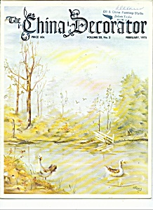 The China Decorator -february 1975