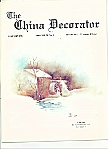 The China Decorator - January 1983