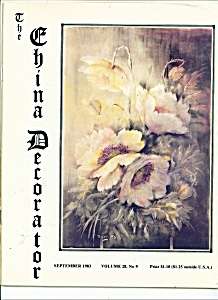 The China Decorator - September 1983 (Image1)