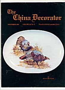 The China Decorator - November 1983
