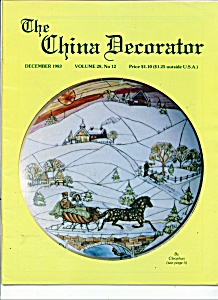 TheChina Decorator -  December 1983 (Image1)