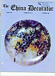 The China Decorator - October 1980 (Image1)