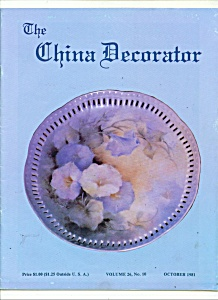 The China Decorator - October 1981