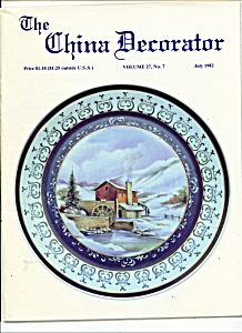 The China Decorator - July 1982