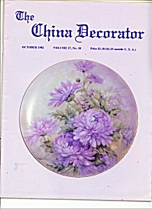 The China Decorator -  October 1982 (Image1)
